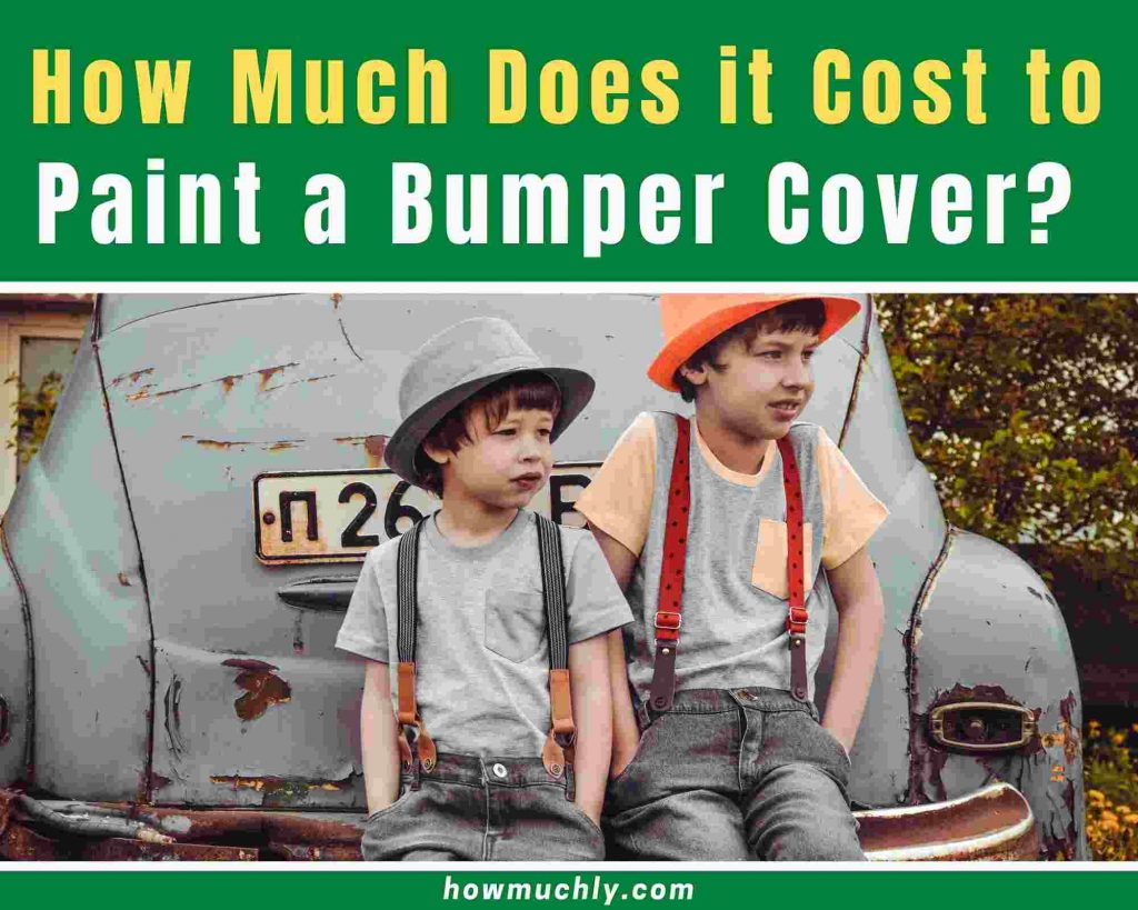 How Much Does it Cost to Paint a Bumper Cover