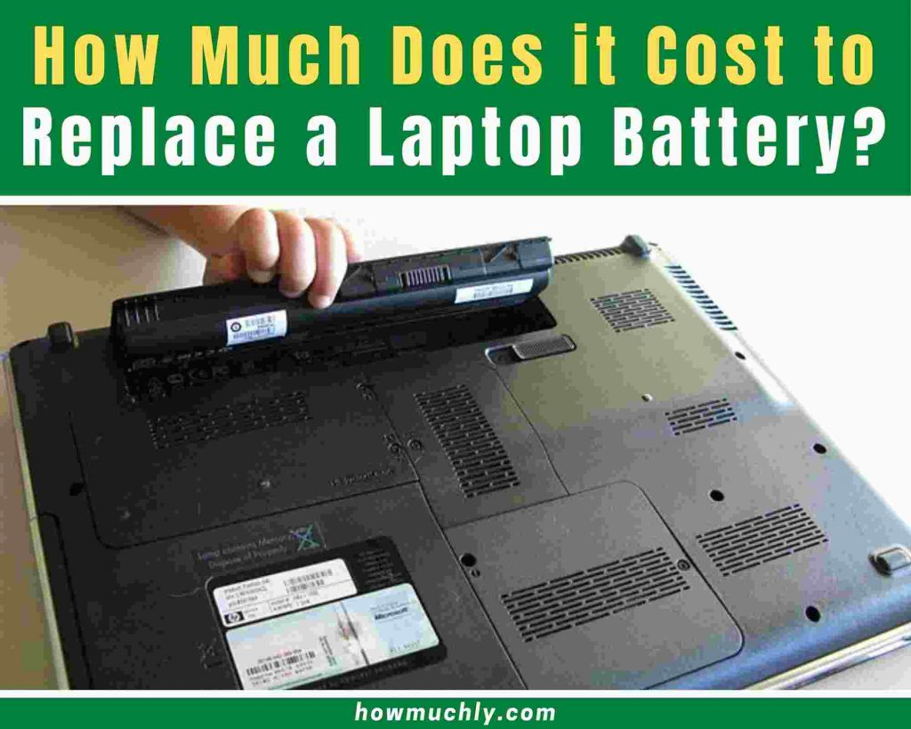 how much does it cost to replace a laptop battery
