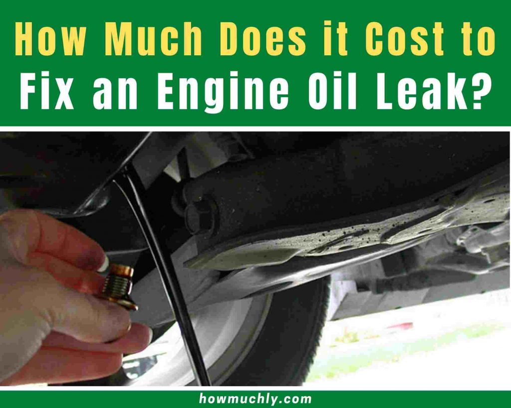 how much does it cost to fix an oil leak