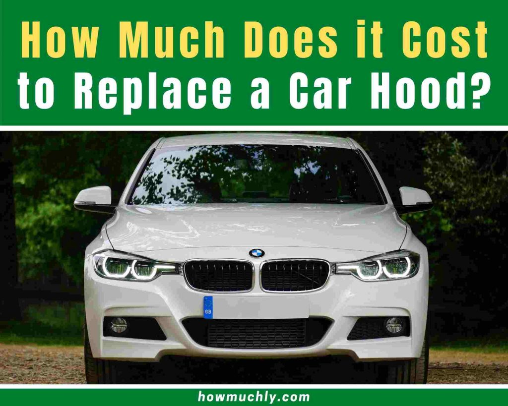 how much does it cost to replace a car hood