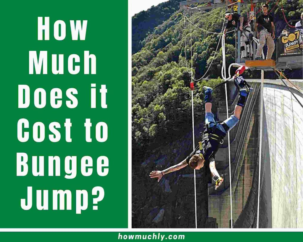 how much does it cost to bungee jump